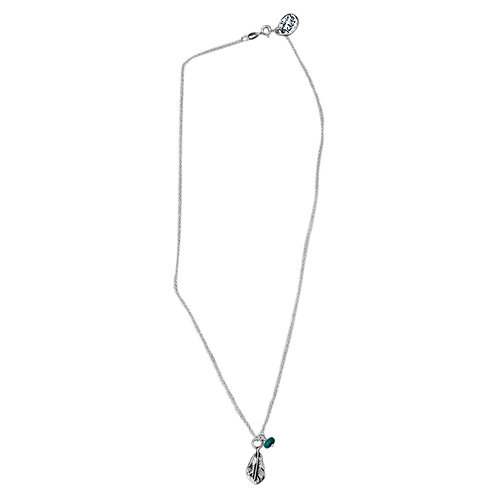 Fancy Fine Feather Necklace