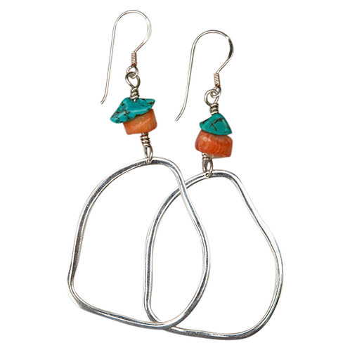 Irregular Hoop Earring