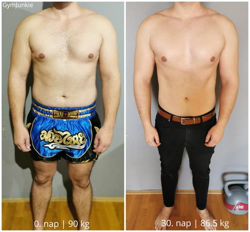 Renátó 30. nap: -3,5 kg