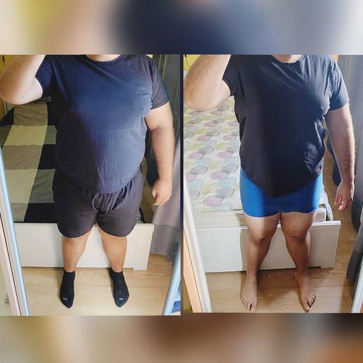 Tomi update: -15 kilóval később