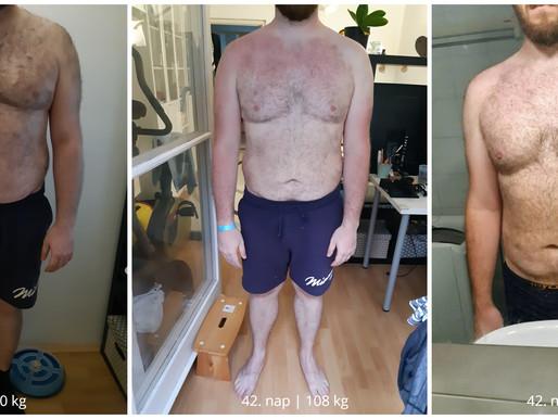 Joci VÉGE: 90 nap, 200 km futás, -20 kg
