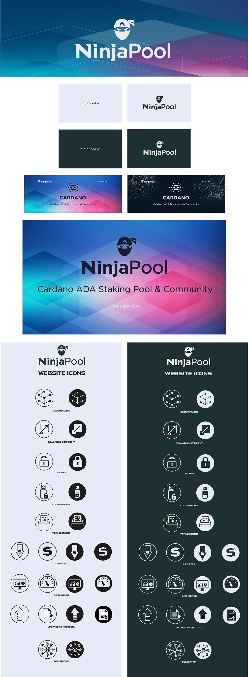 Ninja Pool Brand Identity