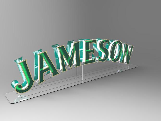 Jameson Interactive Sign