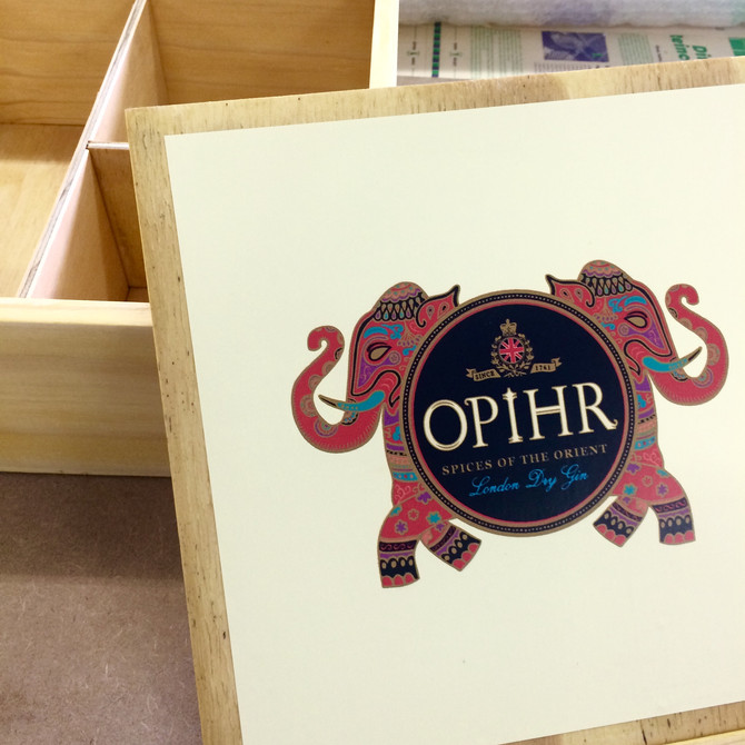 Opihr Gin Packaging Box