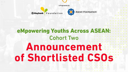 Inspiring the Future: Masy Consultants shortlisted by ASEAN Foundation for Youth Leadership Program