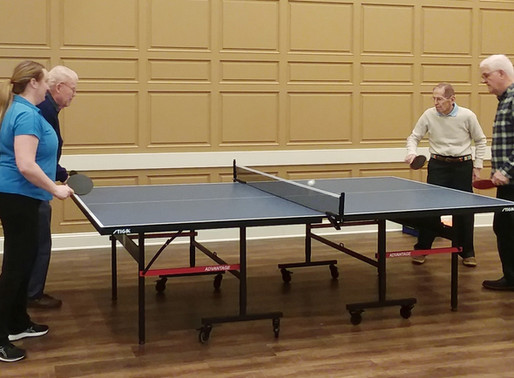 Serving Up Fun: Ping Pong Comes to Capitol Lakes!