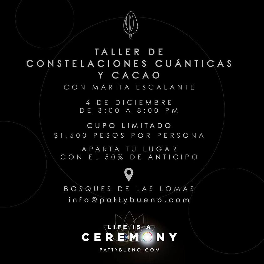 TALLER DE CONSTELACIONES CUÁNTICAS Y CACAO