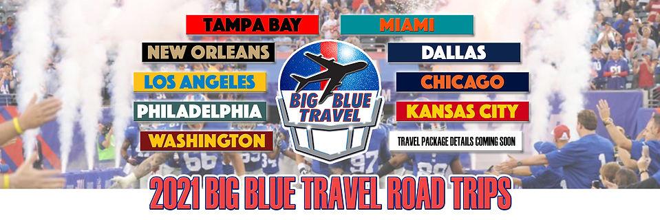 2021 NY Giants VIP Road Trips