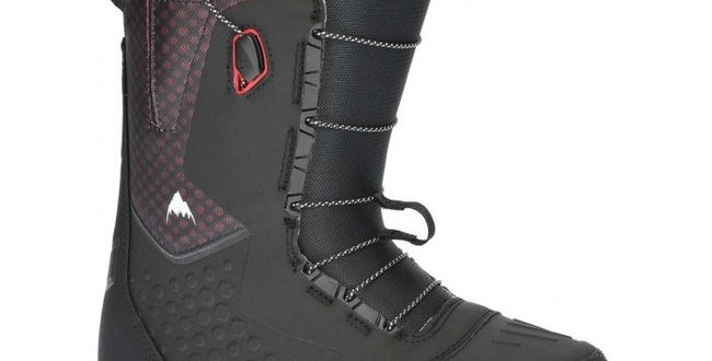 burton boots ion black/red speedzone men