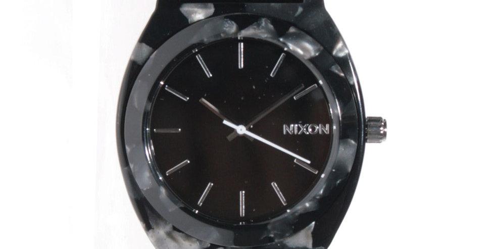 NixonTime teller watch acetate leather