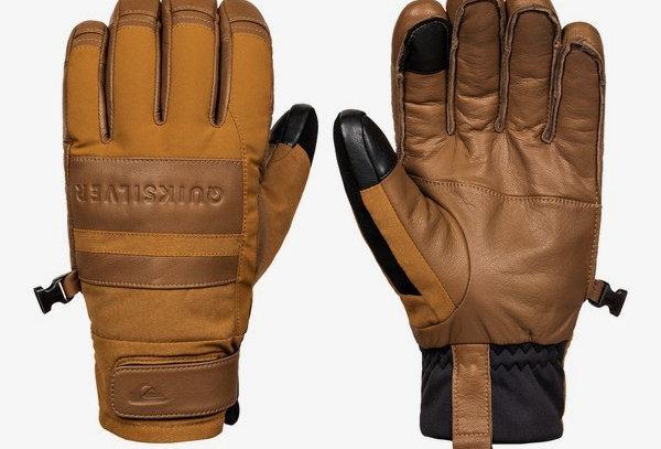 Quiksilver Squad Glove Bronze Brown