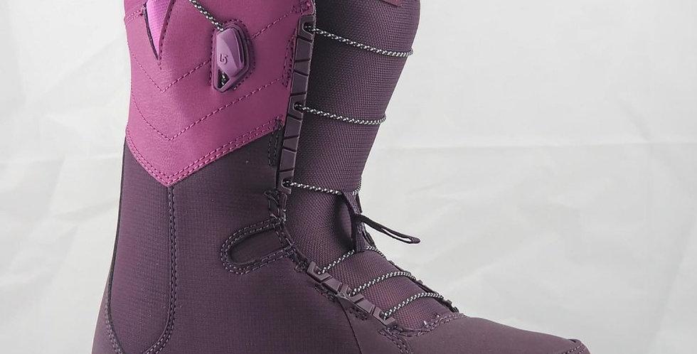 burton botts limelight speed zone purple women