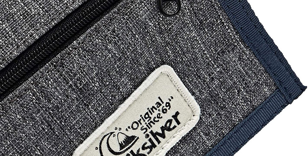 Quiksilver The Everydaily Wallet Grey Blue