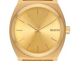 Nixon Time teller watch All gold