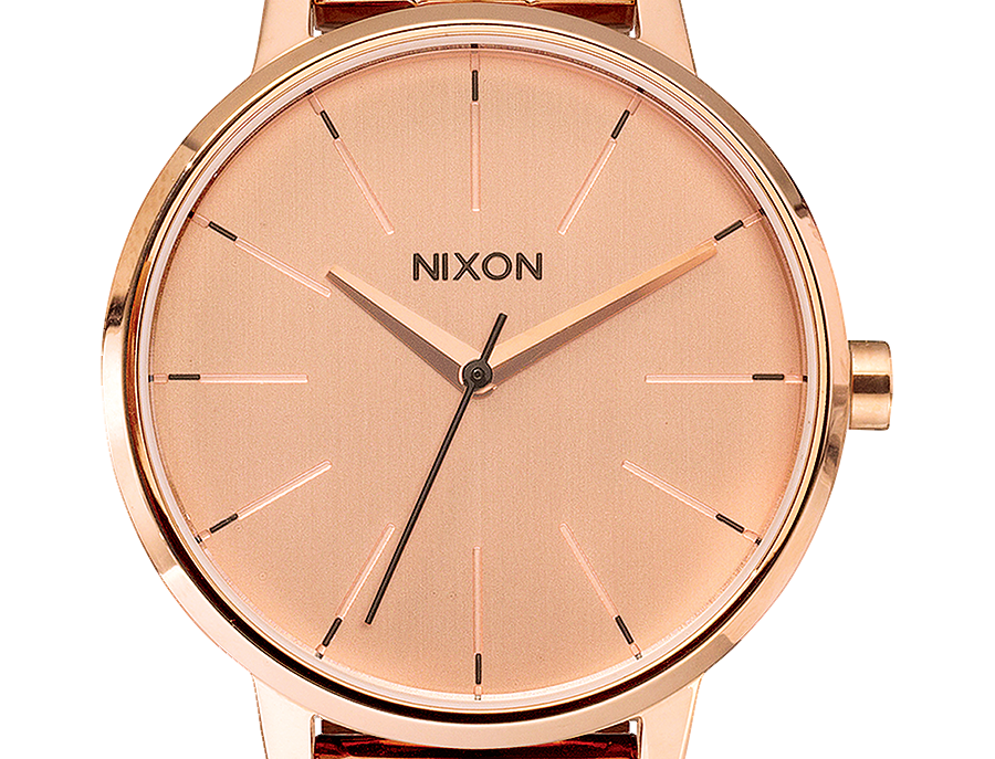 Nixon Kensington watch All rose gold