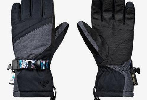 Roxy Crystal Glove Women Grey/Black