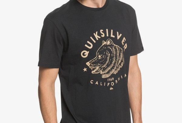 Quiksilver Brown Bear T-Shirt
