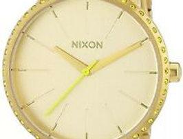 nixon Kesington watch all gold/neon