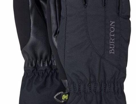 burton profile gloves women black