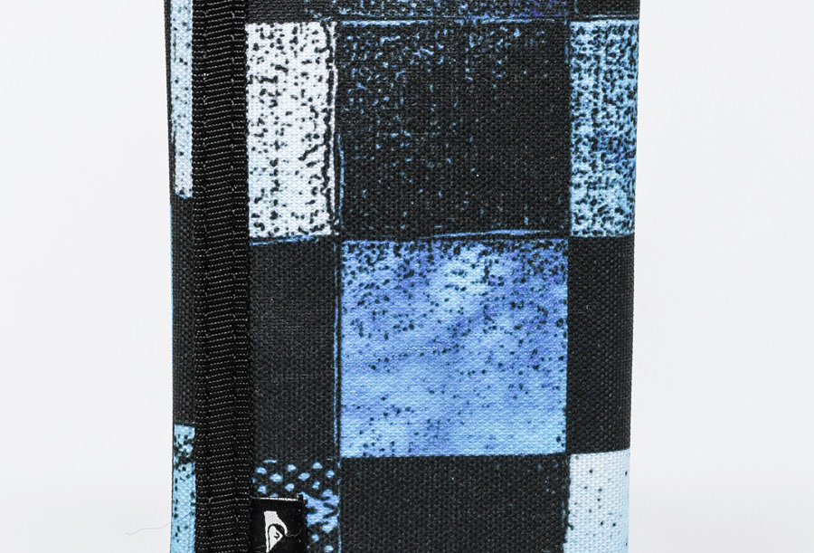 Quiksilver Reception 2 Wallet Blue Squares