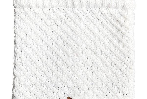 Roxy Blizzard Neck Warmer Egret