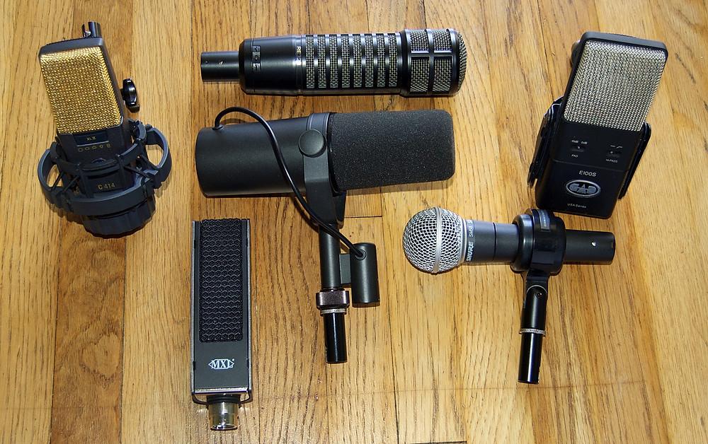 DX_2 Shootout Microphones