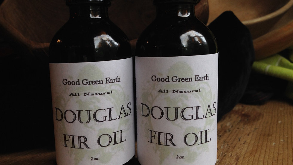Good Green Earth Douglas Fir Oil