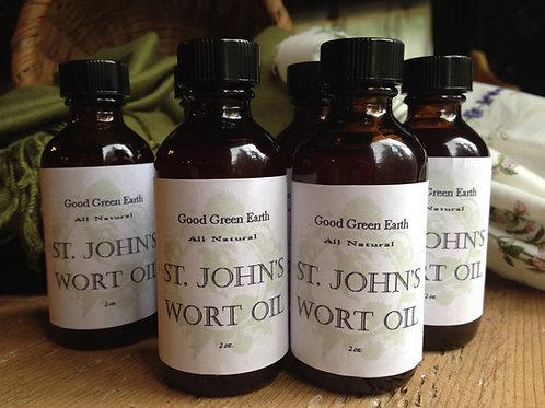 Good Green Earth St. John's Wort Oil