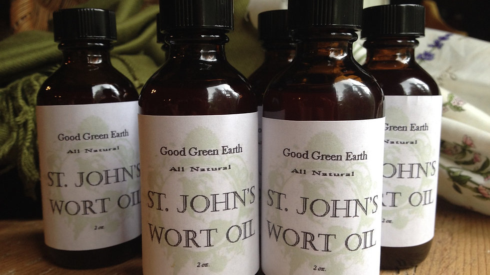 Good Green Earth St. John's Wort Oil