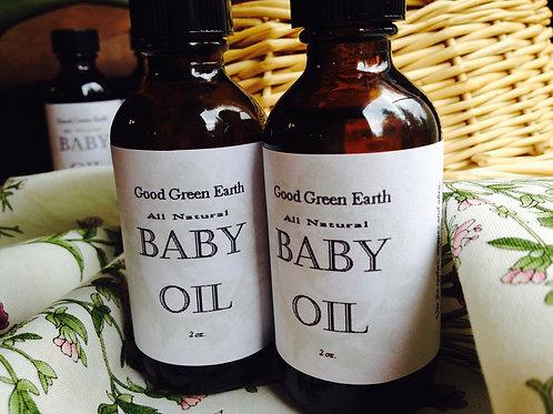 Good Green Earth Baby Oil
