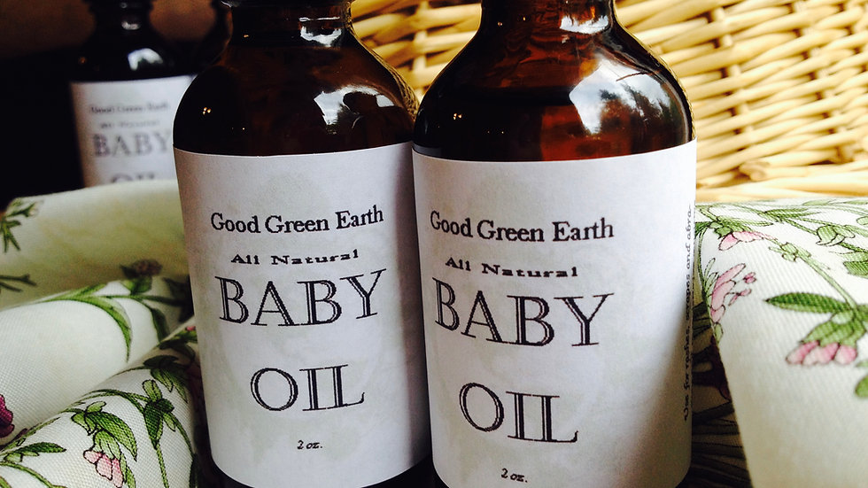 Good Green Earth Baby Oil