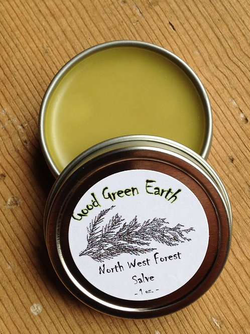 Good Green Earth North West Forest Salve