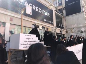 AAUL junta-se a AAC no Dia do Estudante para revindicar direitos dos estudantes em Coimbra