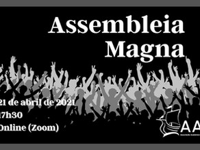 Assembleia Magna dos Estudantes da Universidade de Lisboa | FAZ A TUA CREDENCIAÇÃO