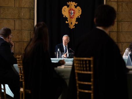 Associação Académica da Universidade de Lisboa reúne com o Presidente da República