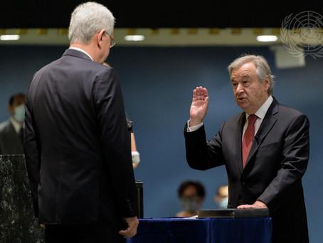 AAUL envia mensagem de felicitações pela reeleição de António Guterres