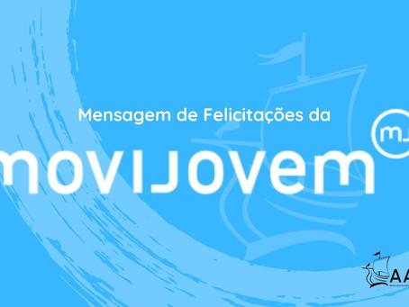 Mensagem da MoviJovem no âmbito do 14.º Aniversário da AAUL