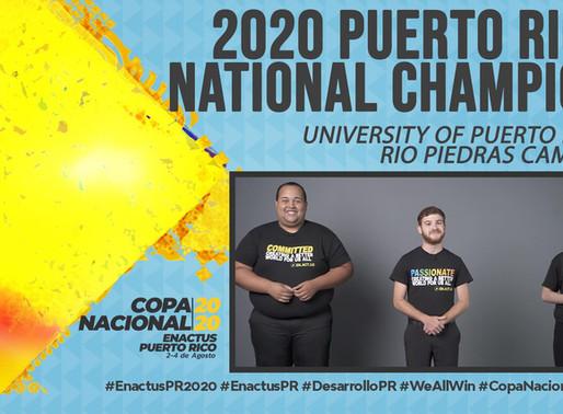 Enactus celebra su 14va Competencia Nacional y sus 15 años en Puerto Rico