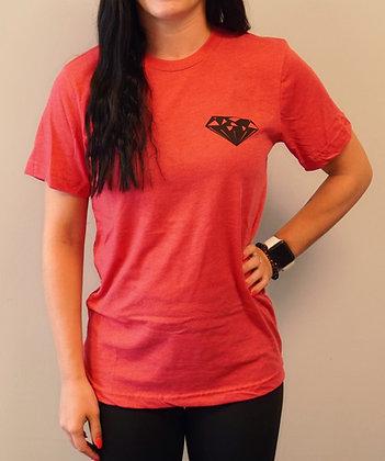 Heather Red Short Sleeve T-Shirt