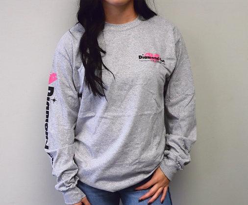 Gray Long Sleeve T-Shirt