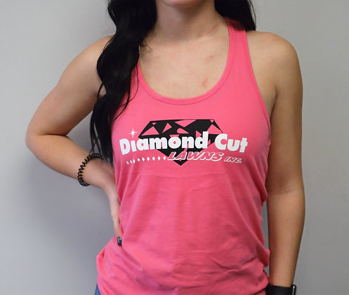 Pink Razer Back Tank Top