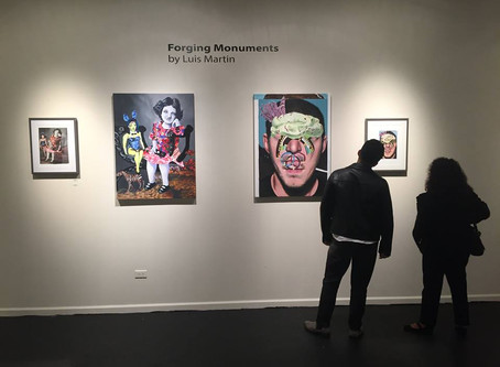 Solo Show: Forging Monuments