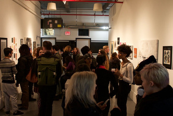 FIT collaboration at Parenthesis Art Space in Bushwick