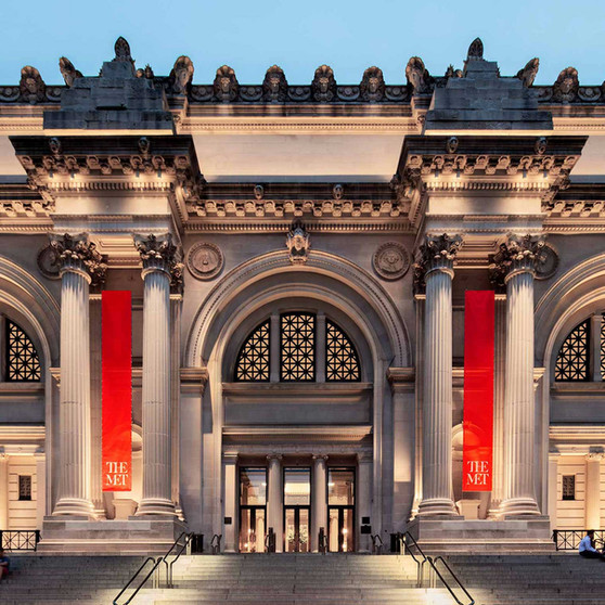 The Metropolitan Museum of Art Fifth Ave NYC
