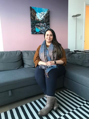Michele Ruiz vistis the Studio