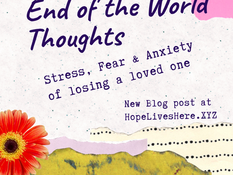 End of the World Thoughts