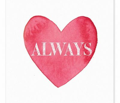 LOVE ALWAYS, ALWAYS LOVE