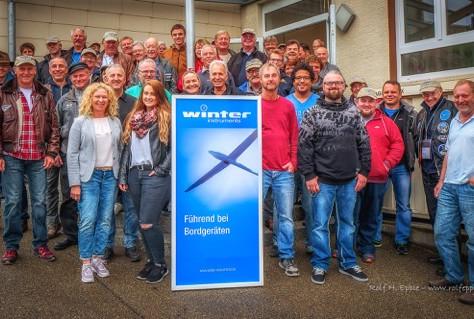 Spontanbesuch der Bückerszene bei Gebr. Winter GmbH & Co.KG