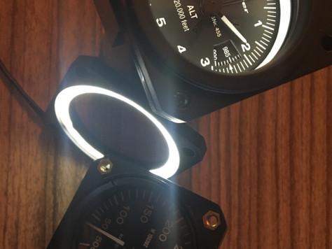 LED-Flansch - NEU !! / LED flange - NEW
