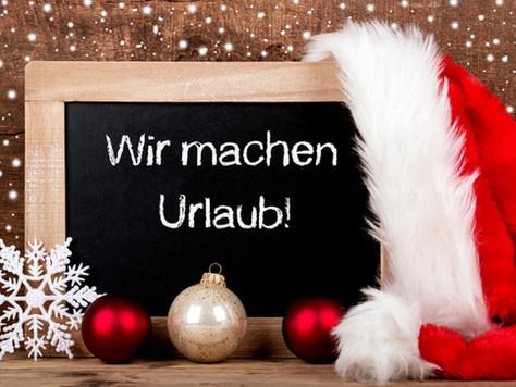 Weihnachtsurlaub/christmas holiday